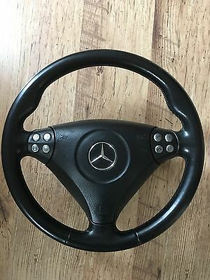 Mercedes-Benz W203/CL203 Coupe Steering Wheel With Airbag