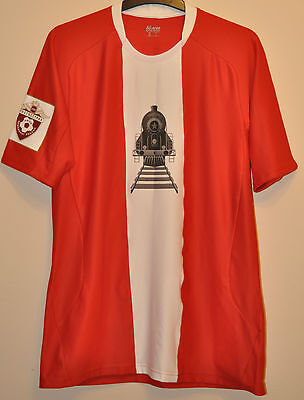 Retro Lokomotiv Moscow Match Worn Issue Football Shirt Jersey #14 Vedran Corluka