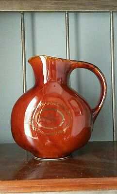 The Presidents Choice Kentucky Bourbon Whiskey Whisky Water Pitcher Double Sided