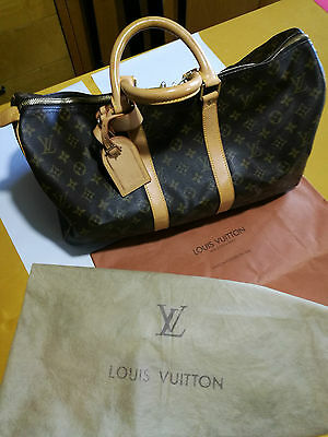 Louis Vuitton Paris Borsone da Viaggio Keepall Monogramm 45