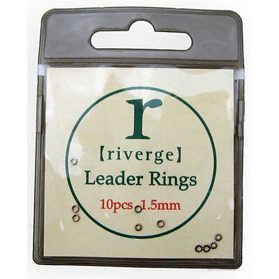 Riverge Seamless Leader Rings - Fly Dropper Rings