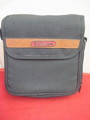 Pullman Carry Case.Personal CD Player/Compact Disc Storage.Black