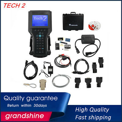 Diagnostic Tool TECH2 OBD2 Scanner TIS-2000 software for GM Saab Isuzu Suzuki
