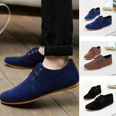 NEW Men's Shoes Fashion England Breathable Casual Canvas Sneakers Running Shoes