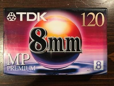 TDK 8mm MP Premium Mini VHS Tape Video Movies Superior Picture Quality Camcorder