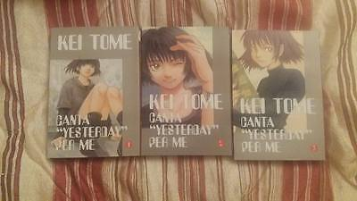 Kei Tome Canta Yesterday For Me Sequenza 1-3 Ronin Manga
