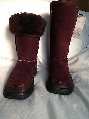 Dolly Boots - Sheepskin boots uk 5