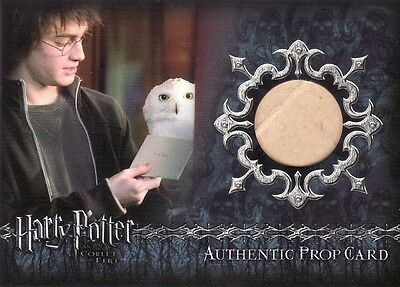 Harry Potter Goblet of Fire Update Letter to Sirius Black P11 Prop Card 48/90
