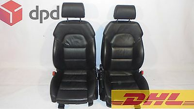 Audi A6 C6 S-Line RHD FRONT LEFT/RIGHT LEATHER SEAT 1pc