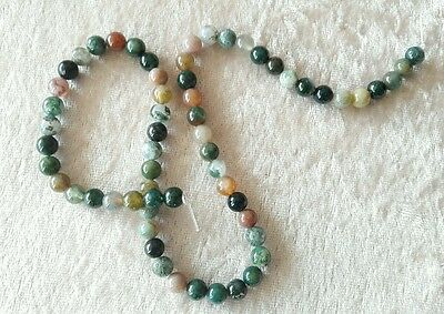 1 LOT DE 60 PERLES en Jade 6 mm