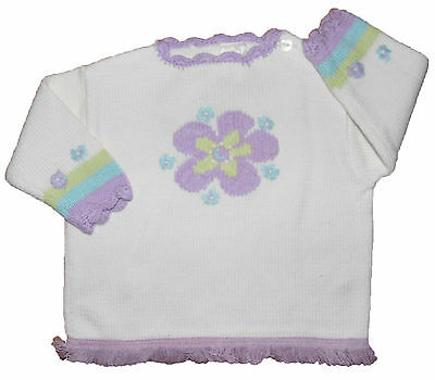 Baby Girls Frilled Hem Top Ex Adams Marked at £8.99 3-6mth and 6-9mth