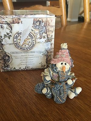 Boyds Bear The Wee Folkstones 1997 Pearl The Knitter