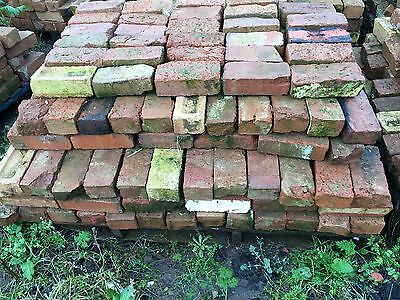 old Hand made 4 inch red bricks reclaimed