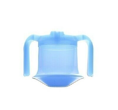 Luminous Non Spill Tumbler - Adult anti spill drinking cup with lid and spout.