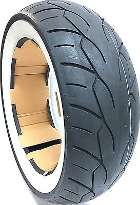 200/60-16 VRM302 Vee Rubber Twin White Wall Harley Motorcycle Tire 200/60B16