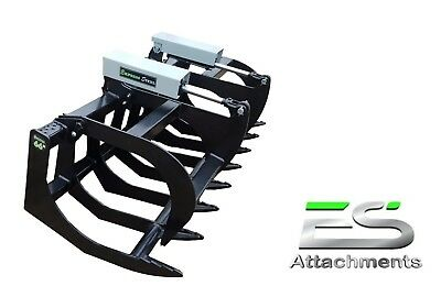 """Es 66"""" Grapple- New, Skid Steer Quick Attach Tractor Loader - Local Pick Up"""