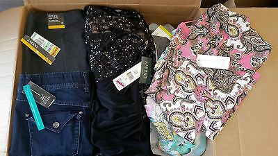 Wholesale Lot of 54 High End Womens Petite Apparel Clothing Manifested