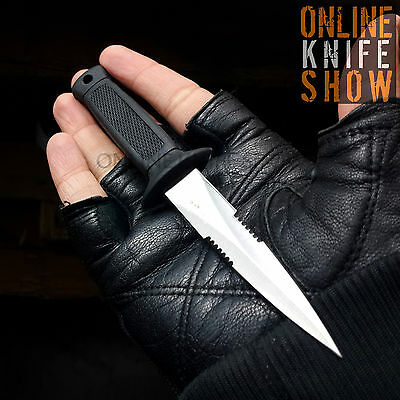 "6.5"" SURVIVAL HUNTING FIXED BLADE Tactical Combat Dagger Knife w/ SHEATH BOWIE"