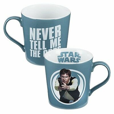 Funny Star Wars Han Solo Mug - Never Tell Me the Odds