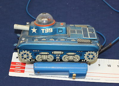 Extremely Rare Gama T99 Space Tank 9939 Vintage