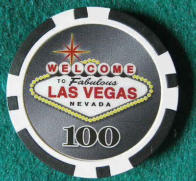 Welcome to Las Vegas poker chip***