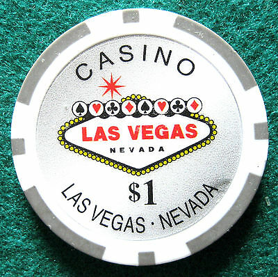 Welcome to Casino Las Vegas, Chip $1 (#243**)
