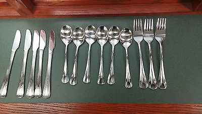Continental Airlines Flatware Silverware - 14 pieces