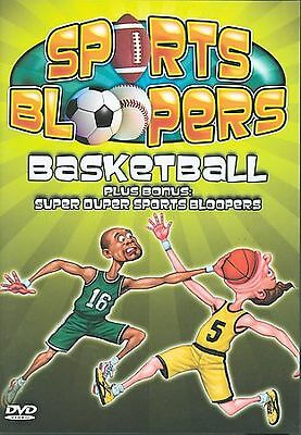 Sports Bloopers: Basketball (DVD, 2004, 2-Disc Set)*BRAND NEW/FACTORY SEALED.