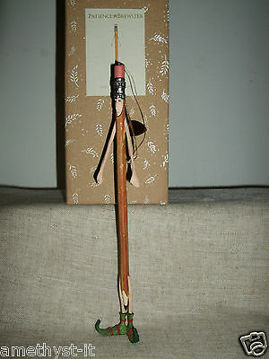 Patience Brewster Krinkles Fairy Tale Figure Pencil Stick Hanger Rare Christmas