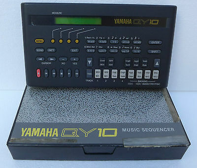 Sequencer Yamaha QY 10 Vintage MIDI Music Workstation sequencer