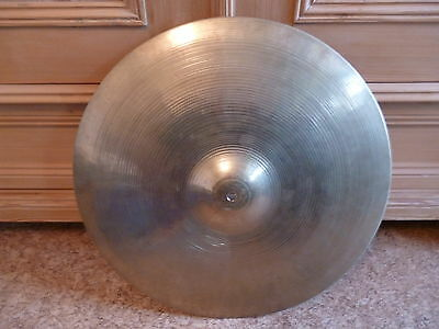 "Vintage Zildjian 18"" Avedis Crash-Ride Block Stamp (55-63) Mini-Ride 1875g Rare"