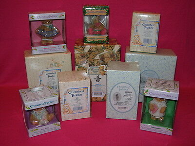 Cherished Teddies WHOLESALE LOT of 10 includes LOUELLA BENJI SPARKY DEVON
