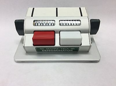 Denominator Company, Multiple Tally Counter, MT1X2, Mechanical Counter, Traffic