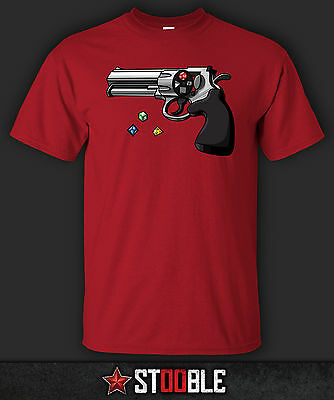 Dice Revolver T-Shirt - Direct from Stockist