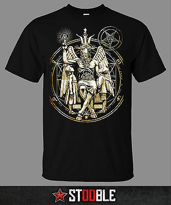 Baphomet Satanic T-Shirt - Direct from Stockist