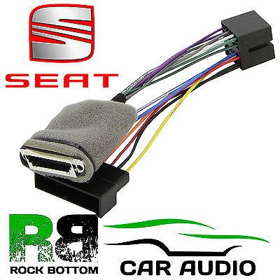 Seat Alhambra MK1 1995 - 2000 Car Stereo Amplifed Bypass Wiring Harness PC9-402