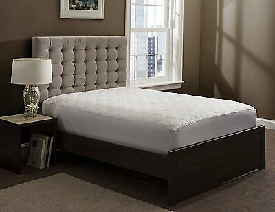 THE GRAND - Fitted Mattress Pad - Quilted mattress Cover - Twin Full Queen King