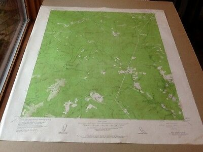 1955 Dept Of Interior Topo Map Lot #132, Big Basin, Calif., Wildwood, Forestpark