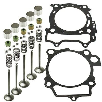 CYLINDER INTAKE EXHAUST GASKET VALVE KIT Fits YAMAHA YZ450F 2006 2007 2008 2009