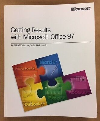 #111 - Microsoft Office 97-98 User Guides -(No CD-ROM)