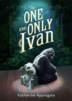 The One and Only Ivan a Hardcover book by Katherine Applegate FREE SHIPPING 1