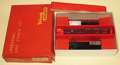Triang OO R319 Operating TC Transcontinental Mail Coach Set EXCELLENT BOXED