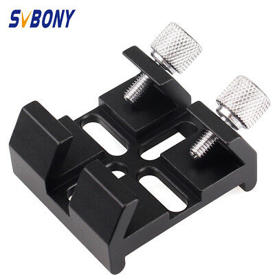 Hot Black Multi-Function Finderscope Dovetail Slots For Optical Telescope +Track