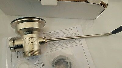 "New 3 1/2"" CHG Component Hardware Group Stainless Steel Twist Drain D55-7510-R"