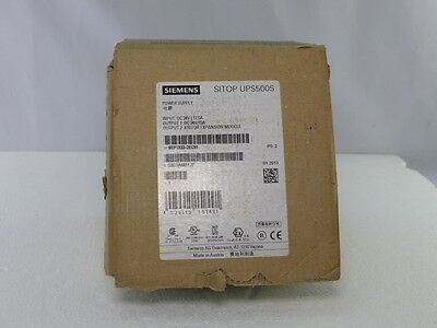 SIEMENS SITOP UPS500S 6EP1933-2EC51 E-Stand. 2 15A 5kW in OVP (4864)