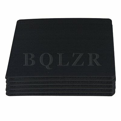 50pcs Computer PC Dustproof Cooler Fan Case Cover Dust Filter Mesh 120x120mm