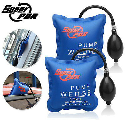 2pc Super PDR Air Wedge Pump Up Clamps Home Door Windows Frames Car Auto Tool