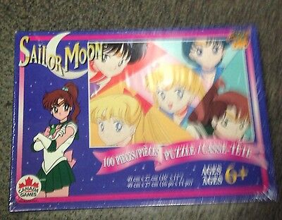 NEW SAILOR MOON PUZZLE CANADA GAMES FACTORY SEALED ~ 100 Piece