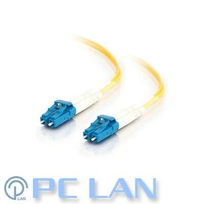 LC/PC to LC/PC 62.5/125 Single Mode Fibre Optic Patch Lead Cable 1m