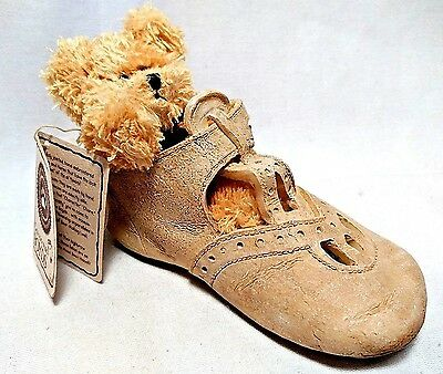 Boyds Bear 2002 Archive Collection Foot Friends Krissy Blessed Christening Shoe